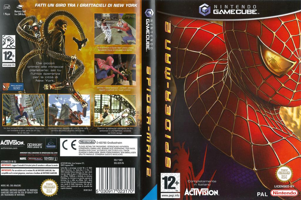 Spider-Man 2 Wii coverfullHQ (GK2I52)