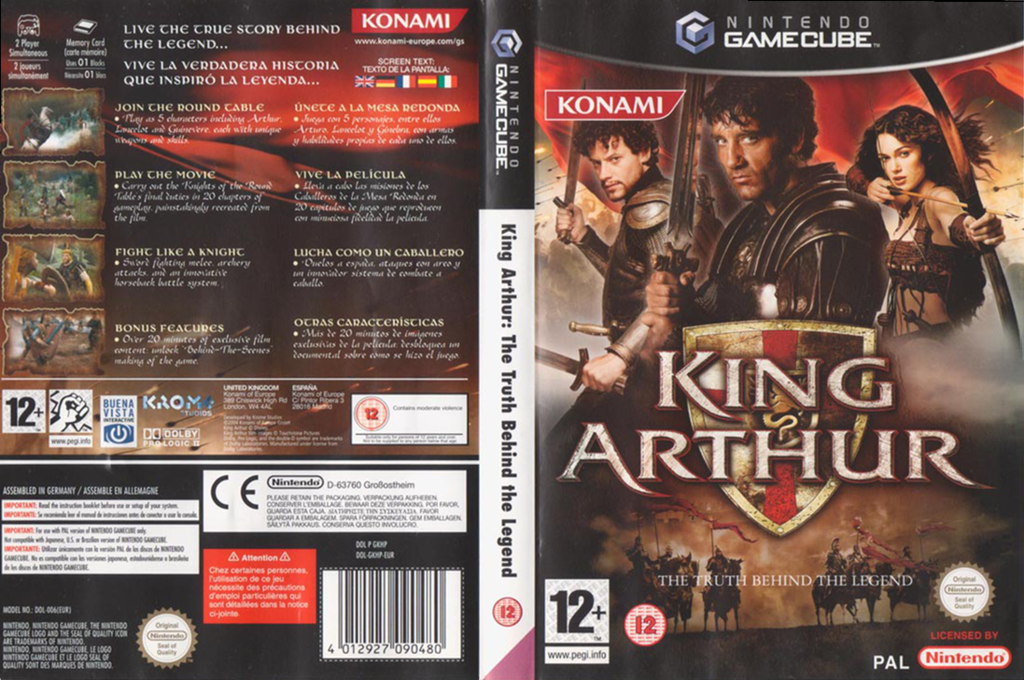 King Arthur Wii coverfullHQ (GKHPA4)