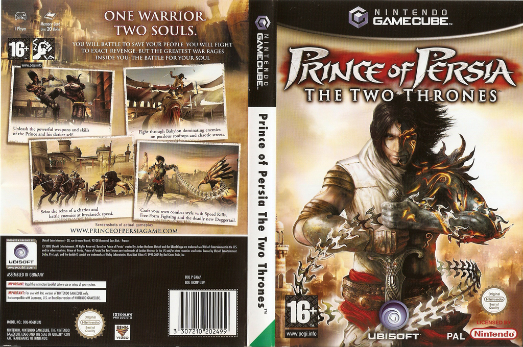 Prince of Persia: The Two Thrones Wii coverfullHQ (GKMP41)