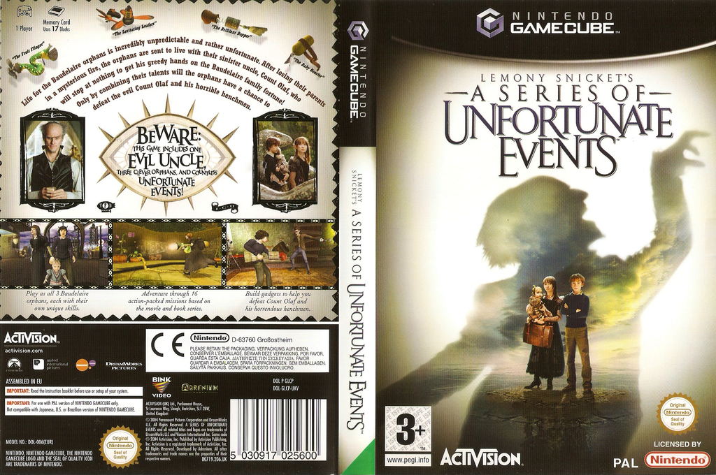 Lemony Snickets A Series Of Unfortunate Events Wii coverfullHQ (GLCP52)