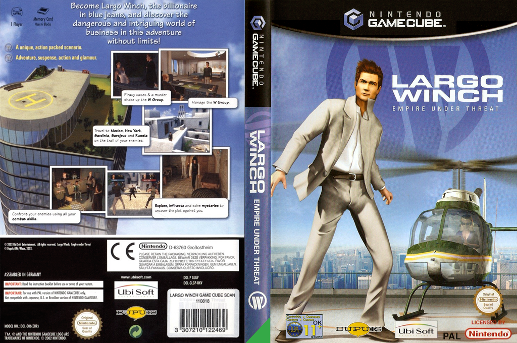 Largo Winch : Empire Under Threat Wii coverfullHQ (GLGP41)