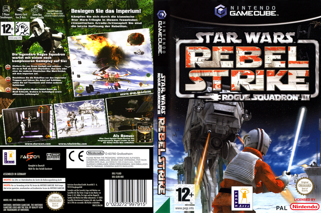 Star Wars Rogue Squadron III: Rebel Strike Wii coverfullHQ (GLRD64)
