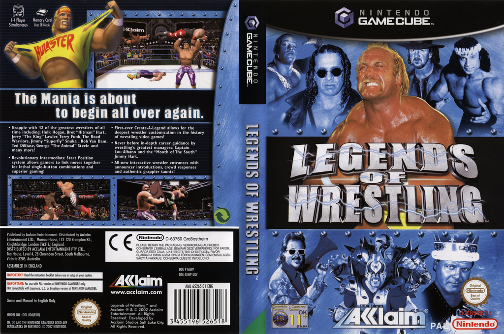 Legends of Wrestling Wii coverfullHQ (GLWP51)