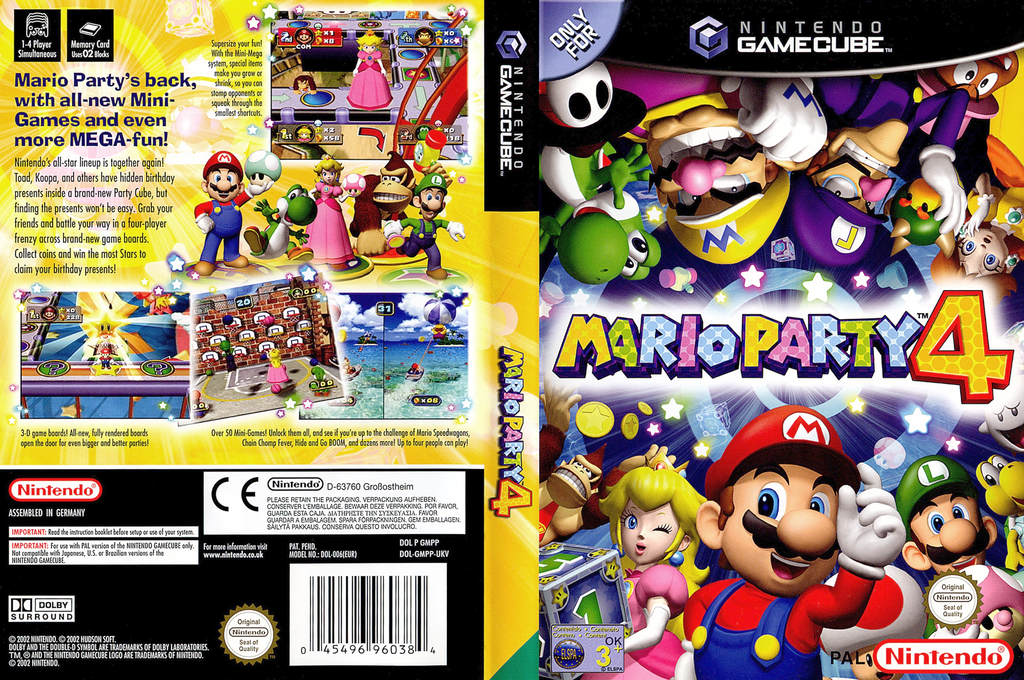 Mario Party 4 Wii coverfullHQ (GMPP01)