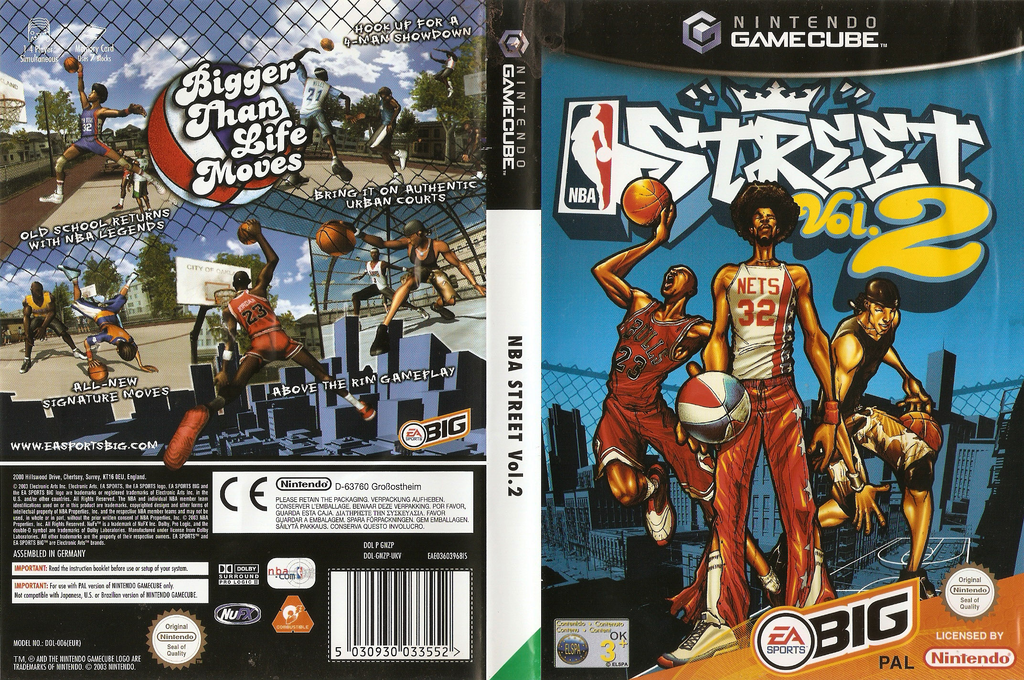 NBA Street Vol.2 Wii coverfullHQ (GNZP69)