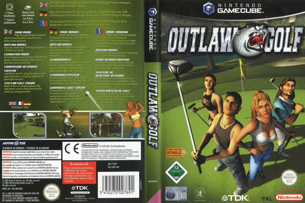 Outlaw Golf Wii coverfullHQ (GOFP6S)