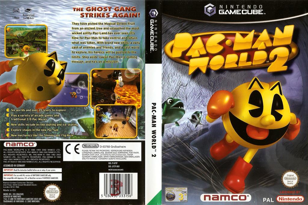 Pac-Man World 2 Wii coverfullHQ (GP2P69)