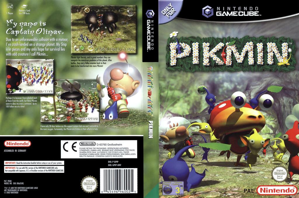 Pikmin Wii coverfullHQ (GPIP01)