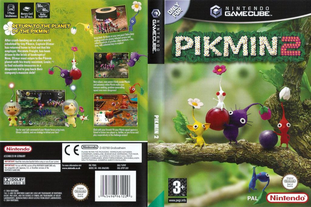 Pikmin 2 Wii coverfullHQ (GPVP01)