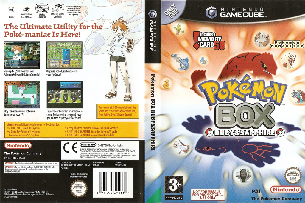 Pokémon Box: Ruby & Sapphire Wii coverfullHQ (GPXP01)