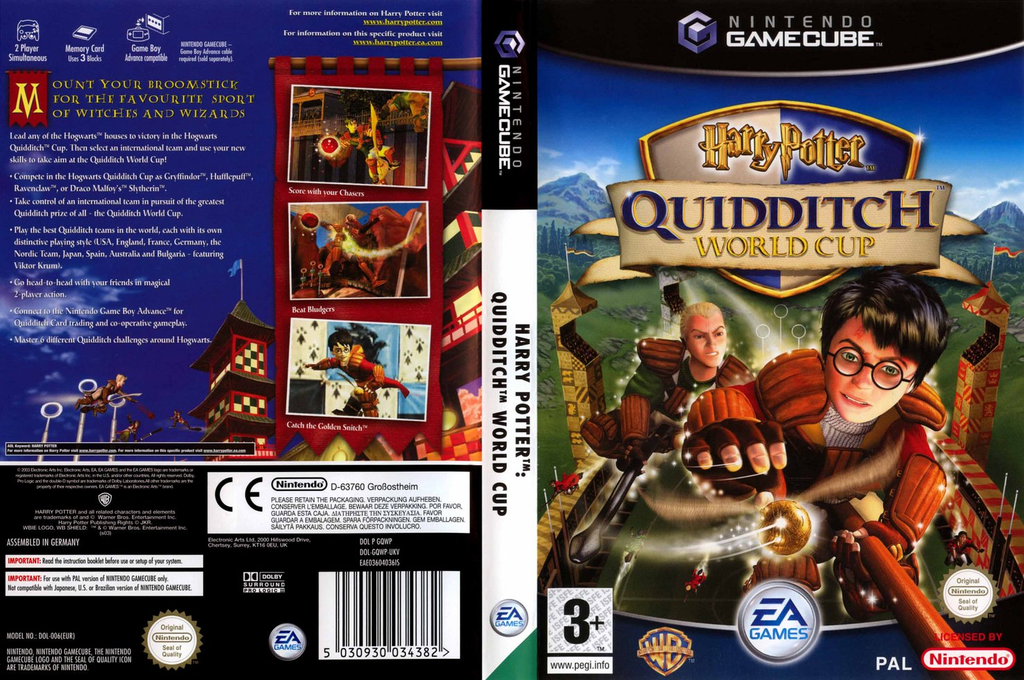 Harry Potter: Quidditch World Cup Wii coverfullHQ (GQWP69)