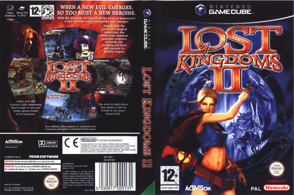 Lost Kingdoms 2 Wii coverfullHQ (GR2P52)