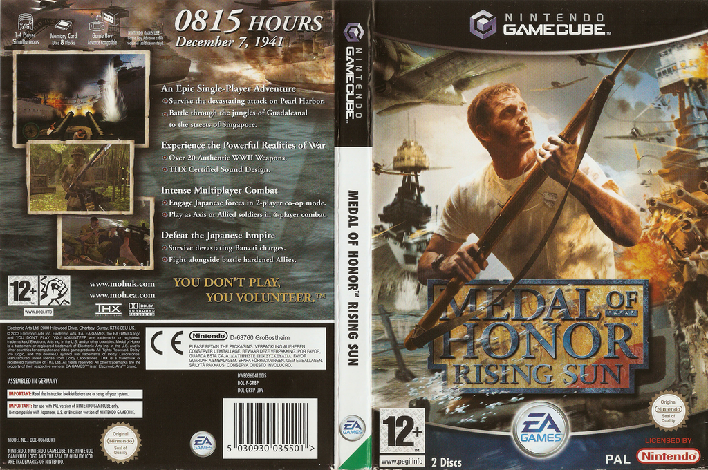 Medal of Honor: Rising Sun Wii coverfullHQ (GR8P69)