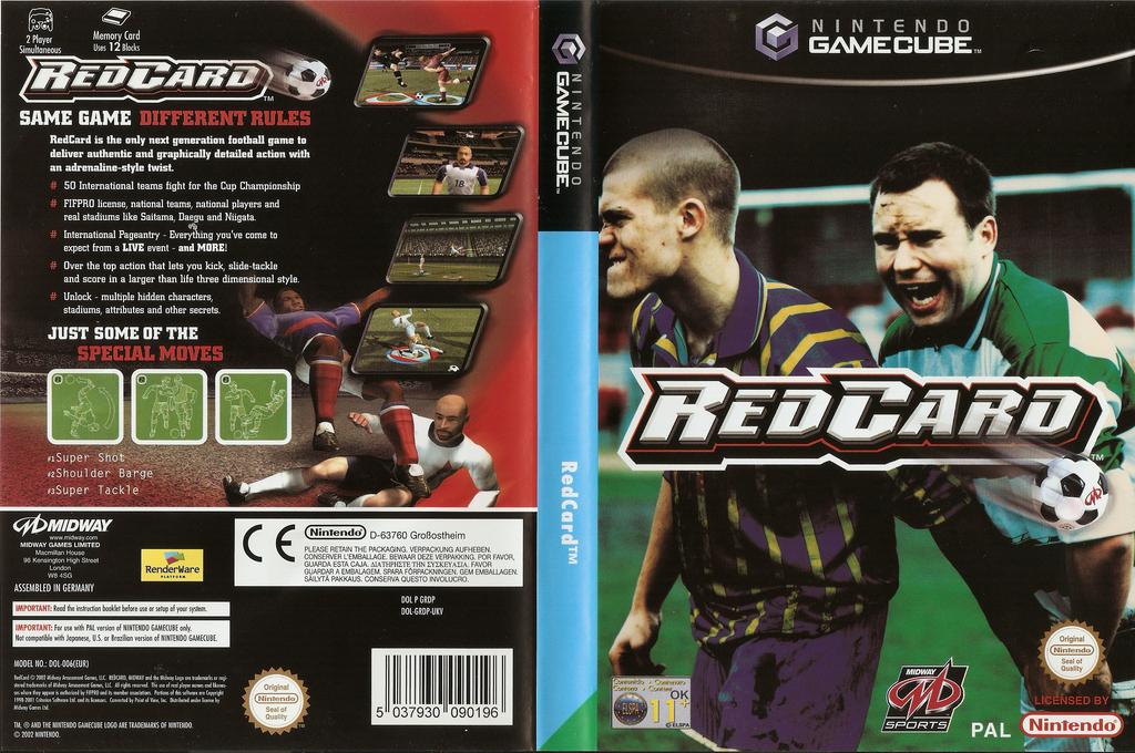 RedCard Wii coverfullHQ (GRDP5D)
