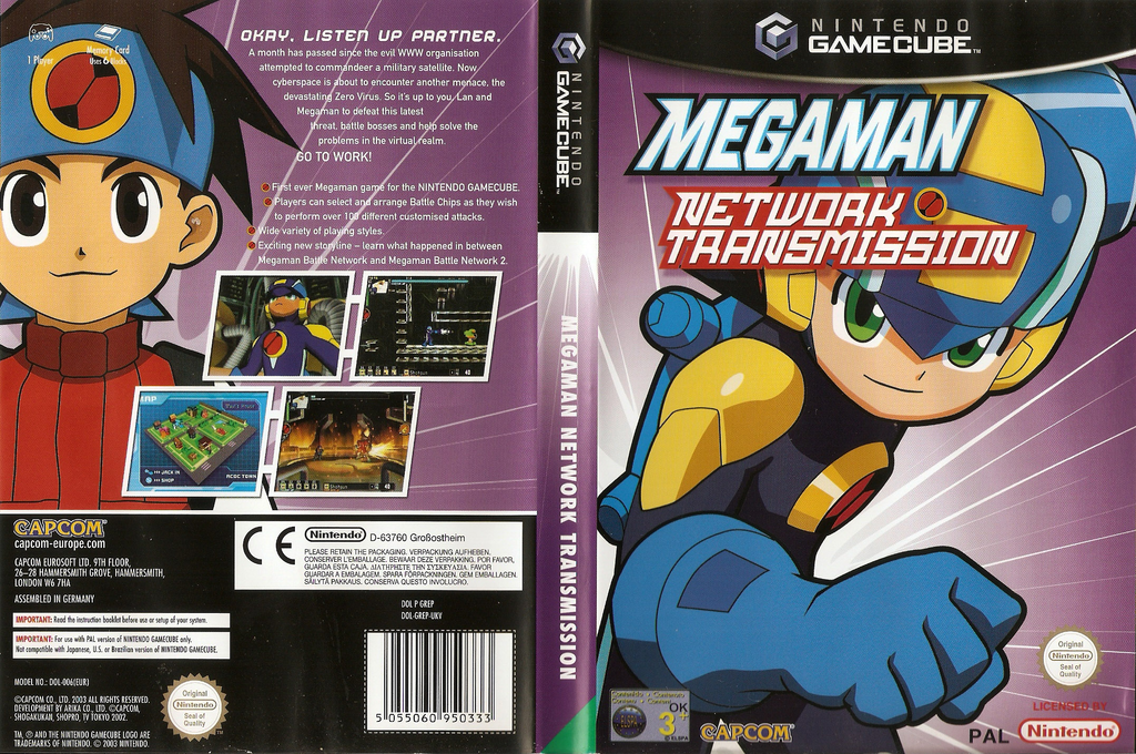 Mega Man Network Transmission Wii coverfullHQ (GREP08)