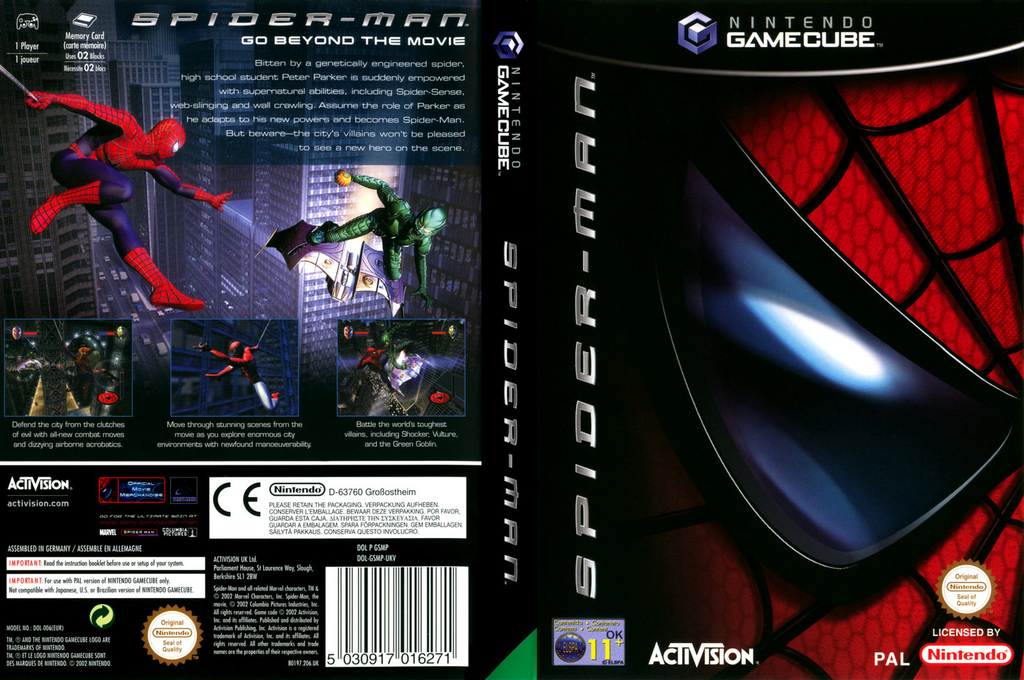 Spider-Man Wii coverfullHQ (GSMP52)