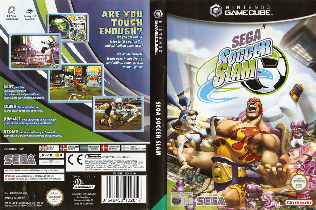 Sega Soccer Slam Wii coverfullHQ (GSSP8P)