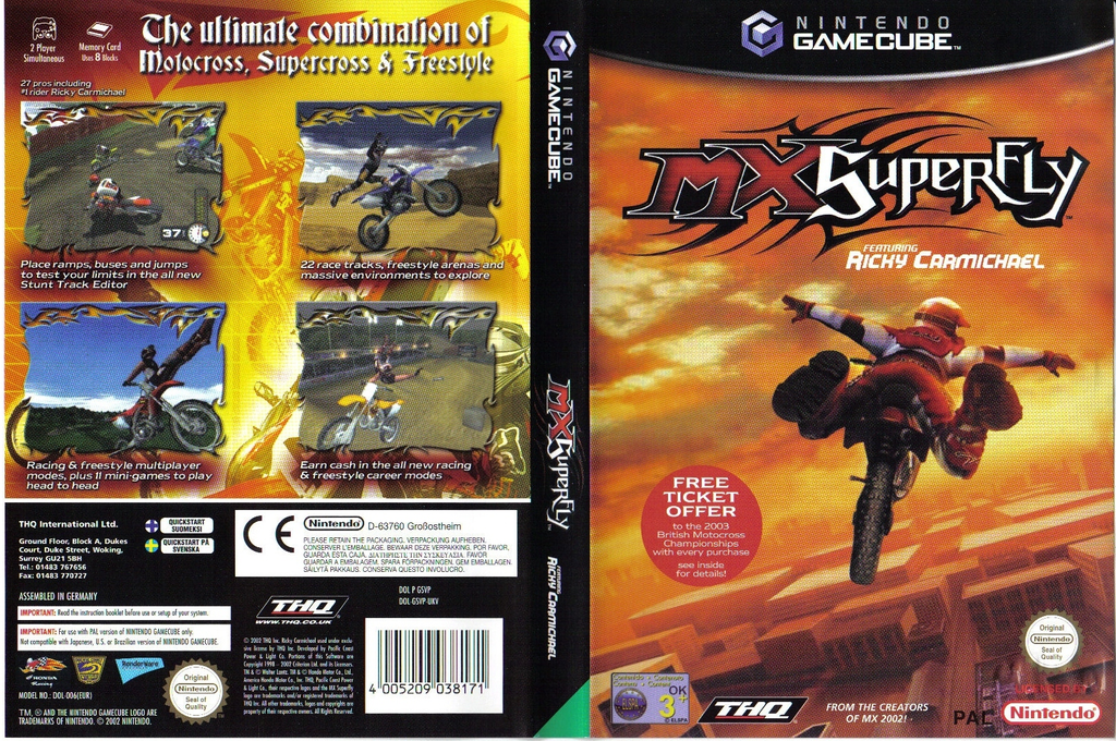MX Superfly featuring Ricky Carmichael Wii coverfullHQ (GSVP78)