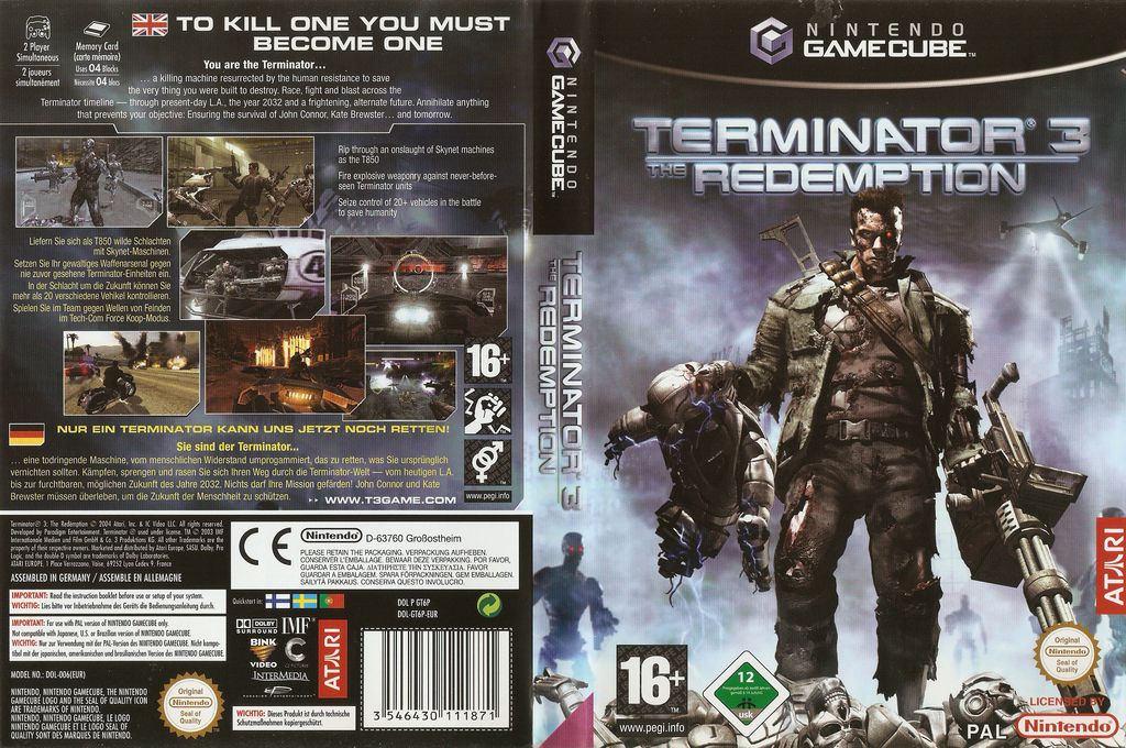 Terminator 3: The Redemption Wii coverfullHQ (GT6P70)