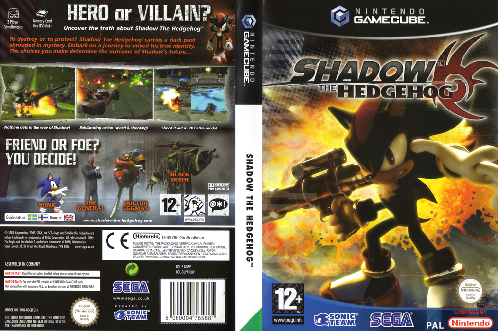 Shadow the Hedgehog Wii coverfullHQ (GUPP8P)