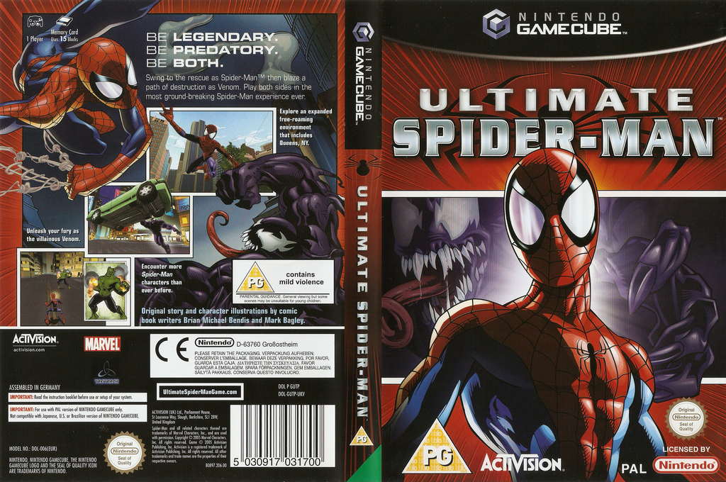 Ultimate Spider-Man Wii coverfullHQ (GUTP52)