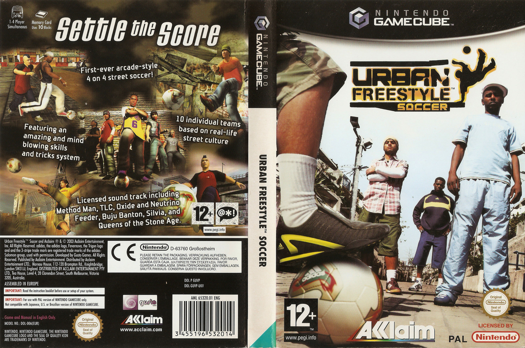 Urban Freestyle Soccer Wii coverfullHQ (GUVP51)