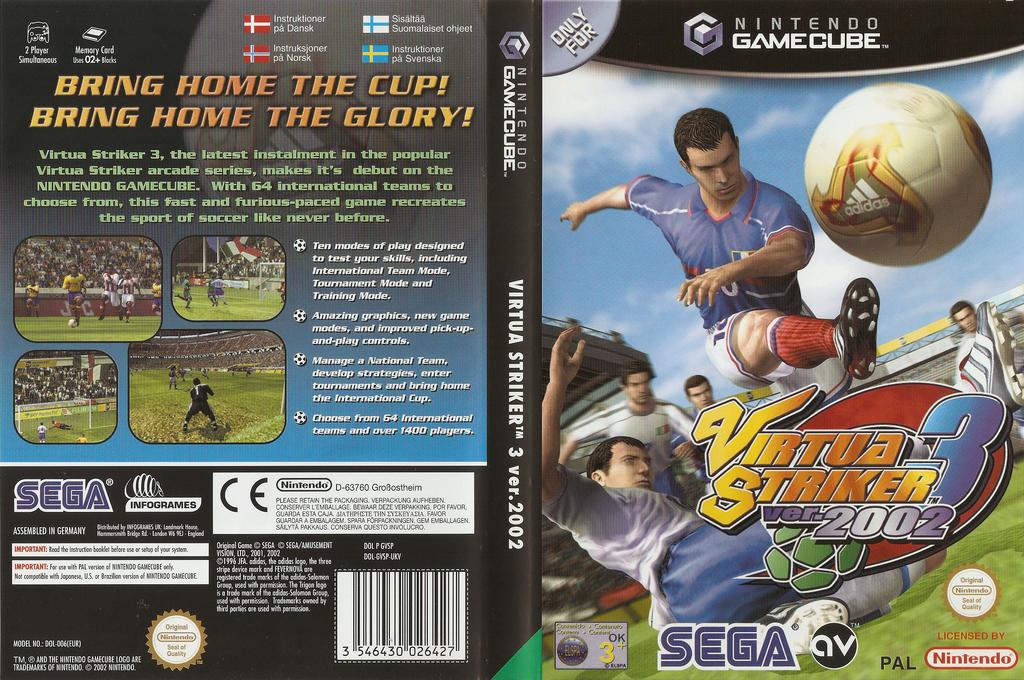 Virtua Striker 3 Ver. 2002 Wii coverfullHQ (GVSP8P)