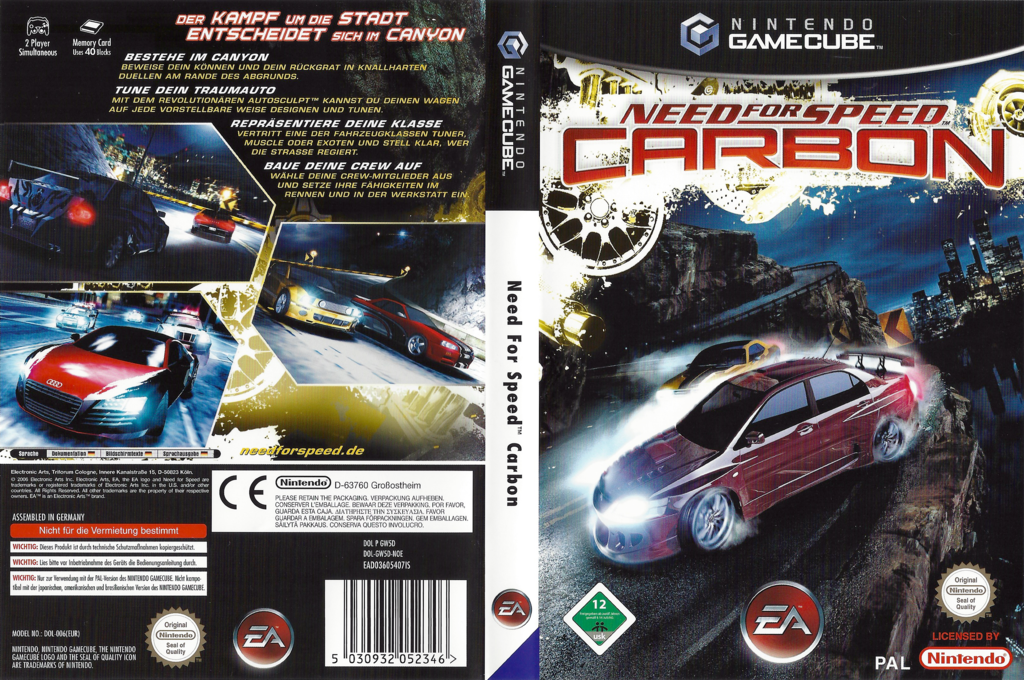 Need for Speed: Carbon Wii coverfullHQ (GW5D69)