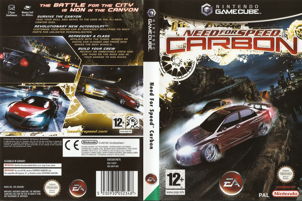 Need for Speed: Carbon Wii coverfullHQ (GW5P69)