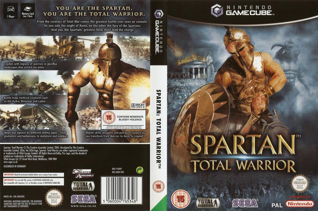 Spartan Total Warrior Wii coverfullHQ (GWAP8P)