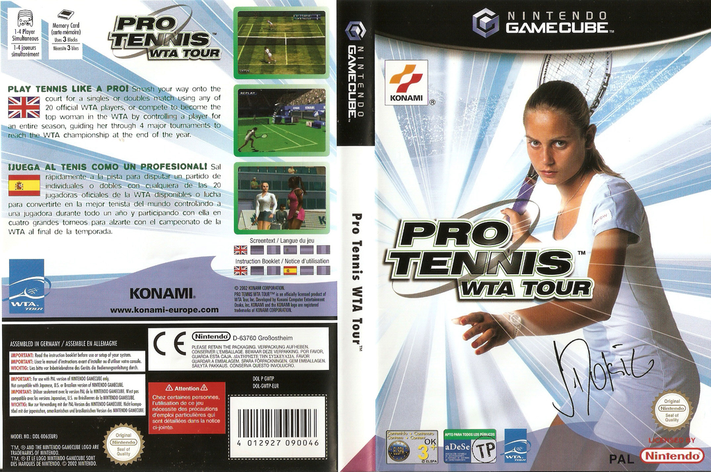 Pro Tennis WTA Tour Wii coverfullHQ (GWTPA4)