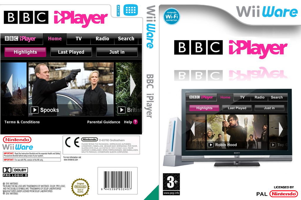 BBC iPlayer Channel Wii coverfullHQ (HCJP)