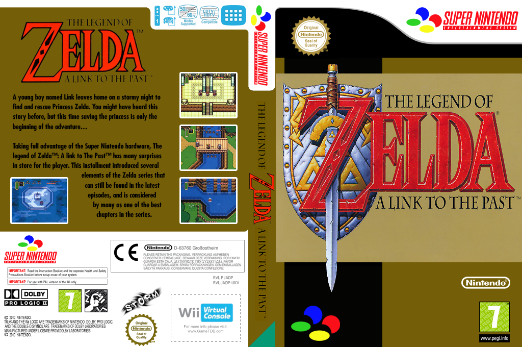 The Legend of Zelda: A Link to the Past Wii coverfullHQ (JADP)