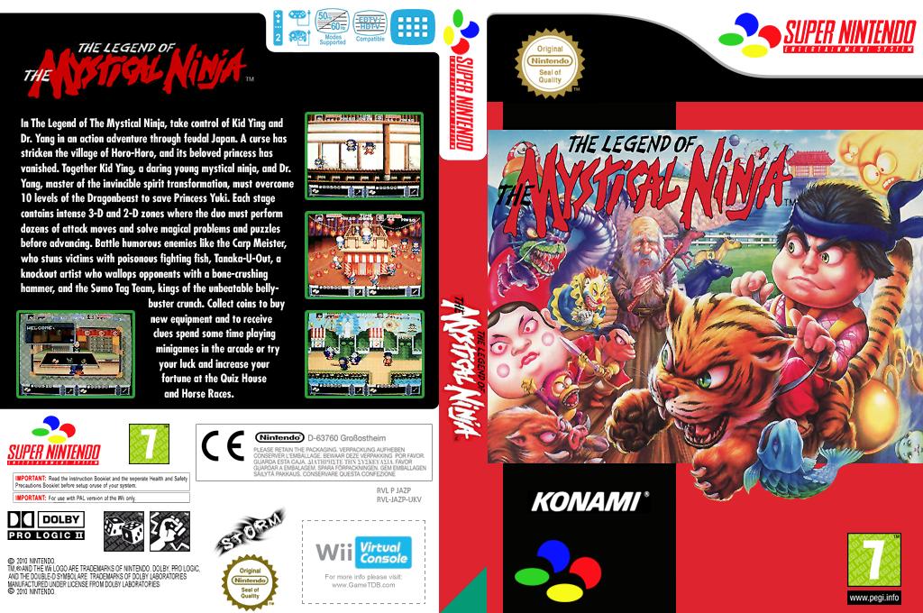 The Legend of the Mystical Ninja Wii coverfullHQ (JAZP)