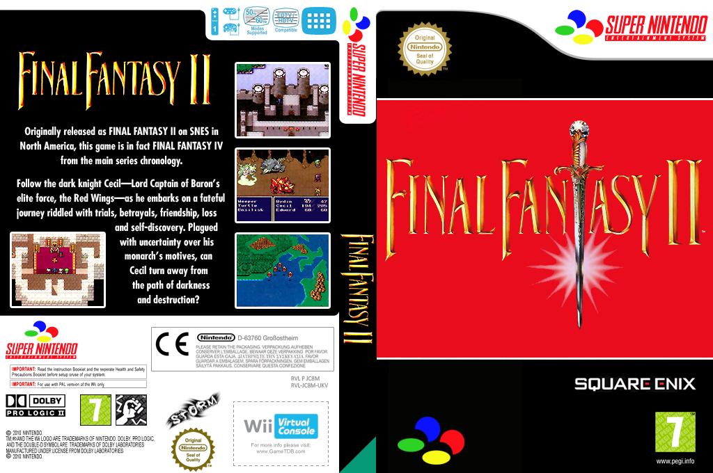 Final Fantasy II Wii coverfullHQ (JC8M)