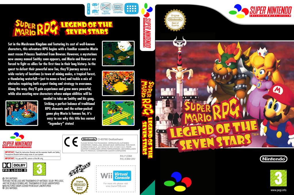 Super Mario RPG: Legend of the Seven Stars Wii coverfullHQ (JCBM)