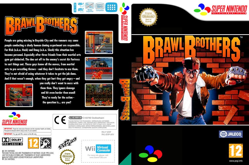 Brawl Brothers Wii coverfullHQ (JD5P)