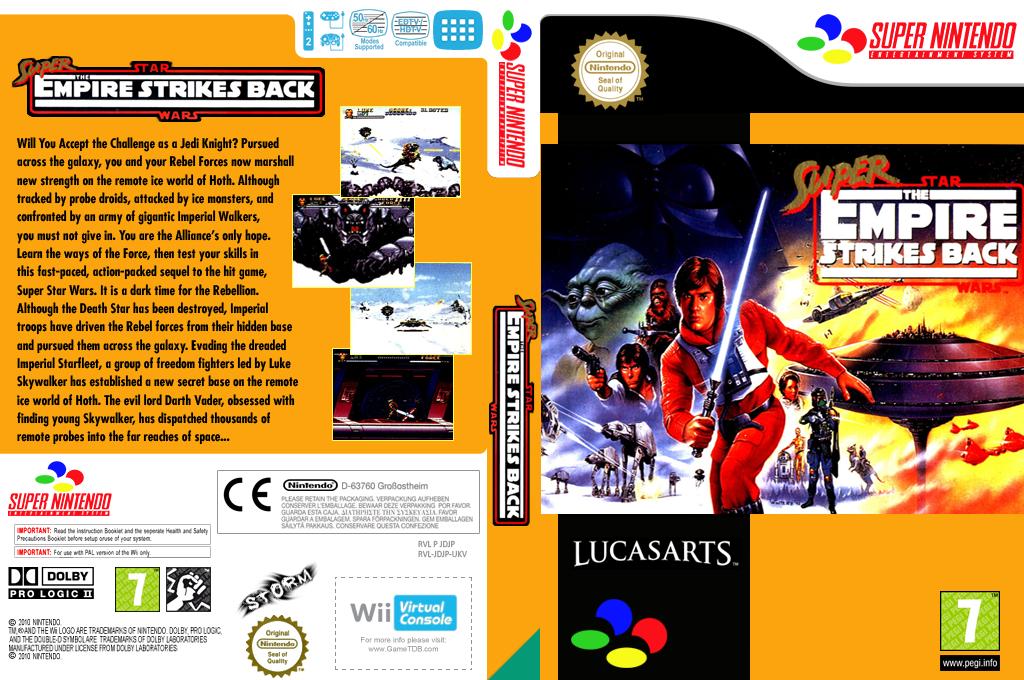 Super Star Wars: The Empire Strikes Back Wii coverfullHQ (JDJP)