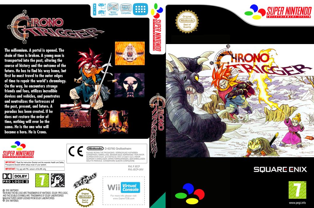 Chrono Trigger Wii coverfullHQ (JECP)