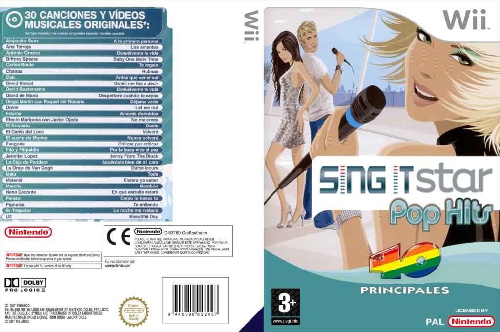 Sing IT: Pop hits, los 40 principales Wii coverfullHQ (L40P4Q)