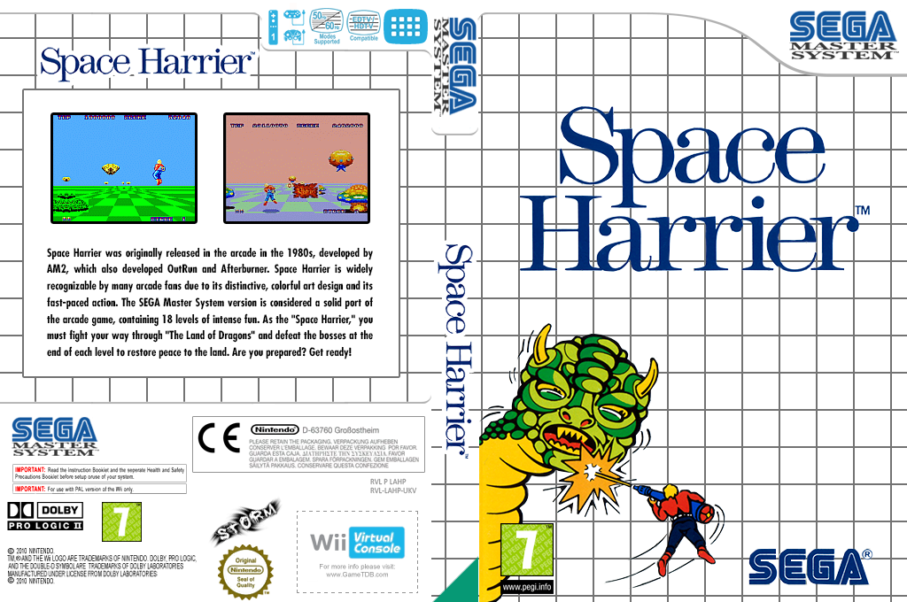 Space Harrier Wii coverfullHQ (LAHP)