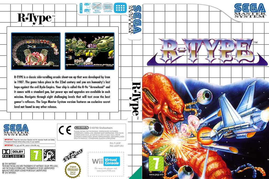 R-Type Wii coverfullHQ (LAOP)