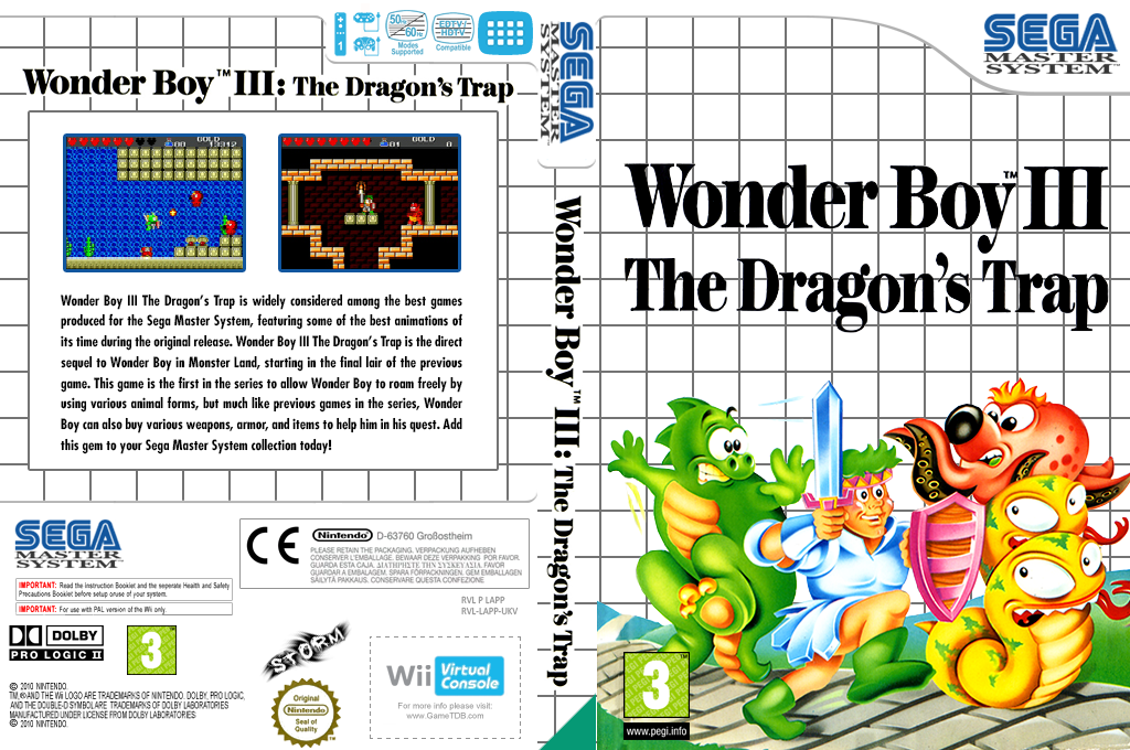 Wonder Boy III: The Dragon's Trap Wii coverfullHQ (LAPP)