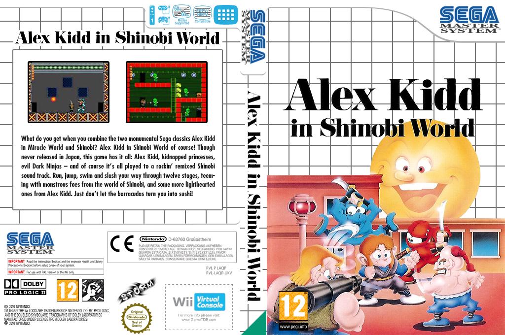 Alex Kidd in Shinobi World Wii coverfullHQ (LAQP)