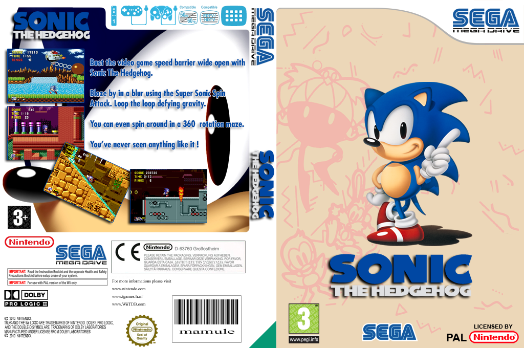 Sonic the Hedgehog Wii coverfullHQ (MAHP)