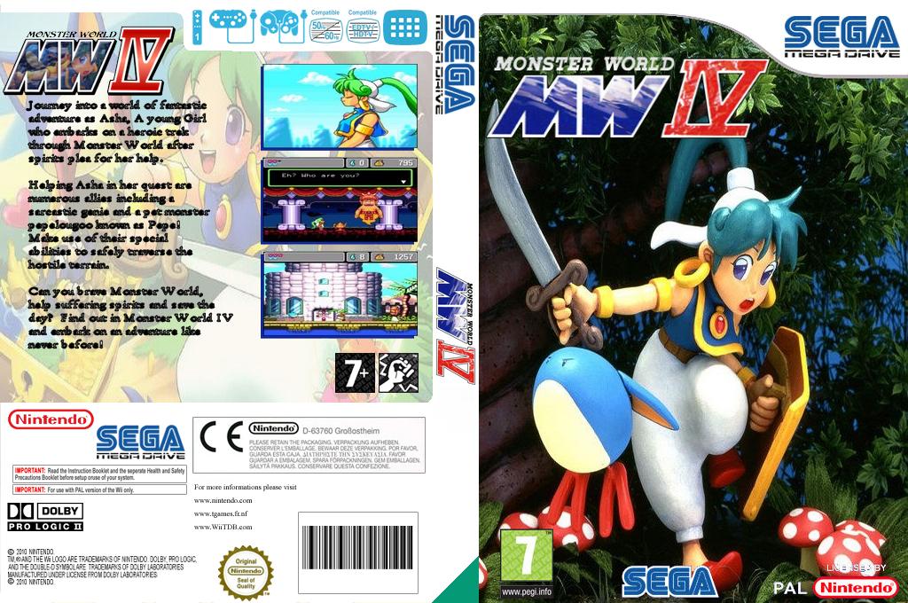 Monster World IV Wii coverfullHQ (MB3L)