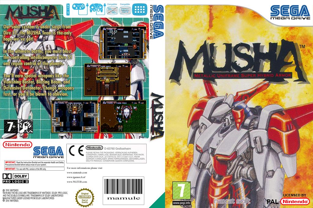 MUSHA Wii coverfullHQ (MCHM)