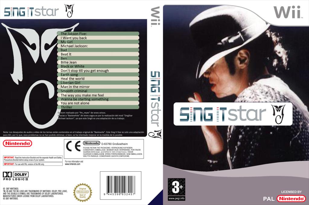 SingItStar Michael Jackson Wii coverfullHQ (MIJPSI)