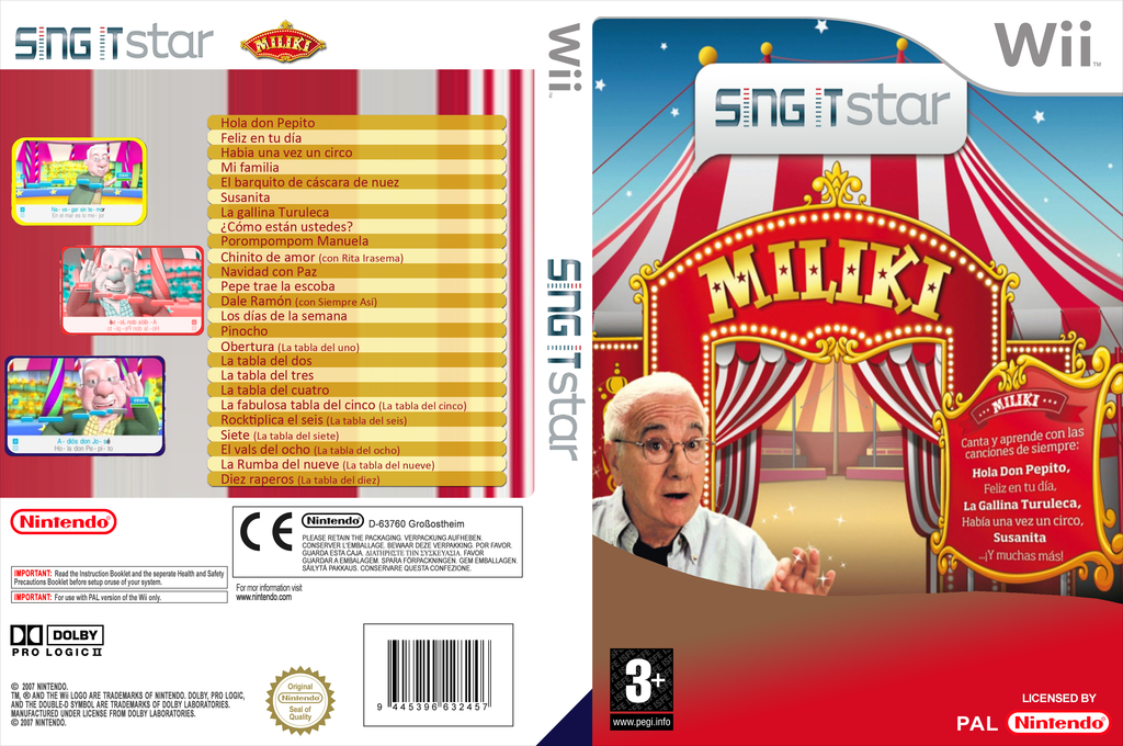 Sing IT Star: Miliki Wii coverfullHQ (MILPSI)