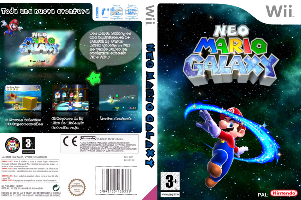 Neo Mario Galaxy Wii coverfullHQ (NMGP01)